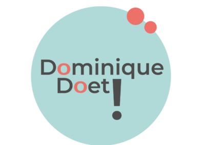 Logo ontwerp in opdracht van Dominique Doet!