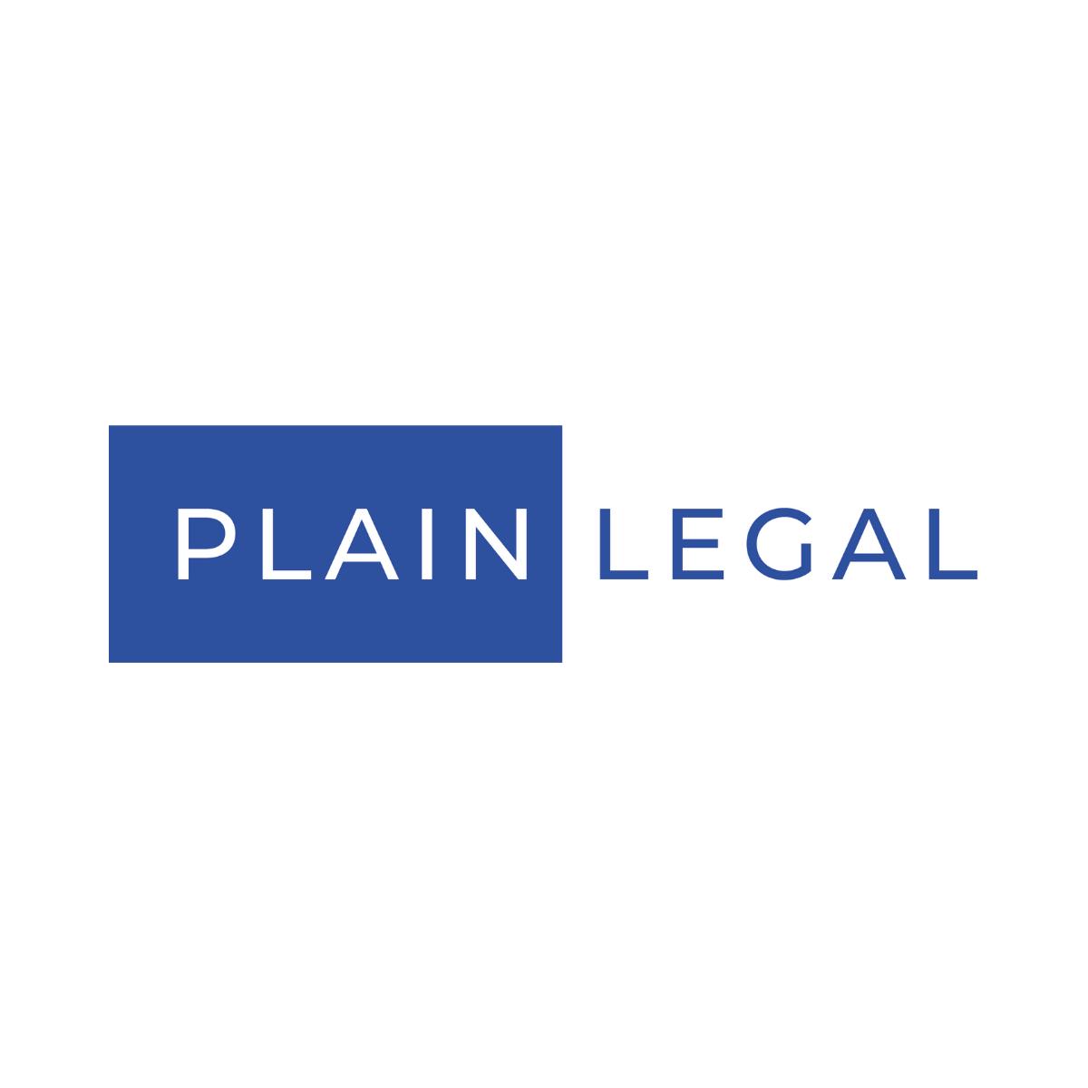 Logo ontwerp in opdracht van Plain Legal